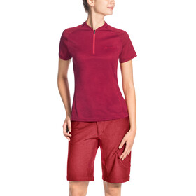 VAUDE Tamaro III Shirt Women crimson red